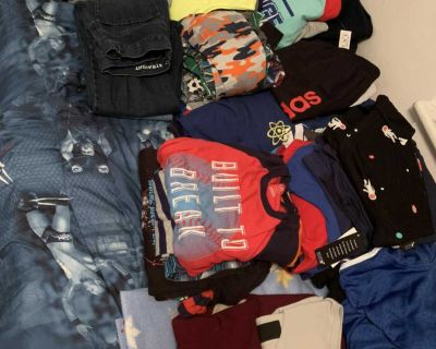 Lot of boys clothes - predominantly size 12. Approx 70 items