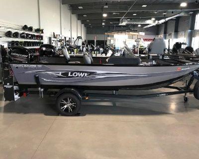 2016 Lowe 165 FISH MACHINE PRO Aluminum Fish Boats Suamico, WI
