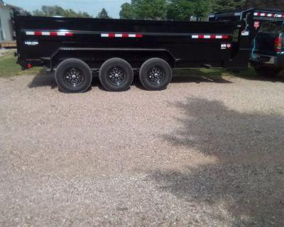 Dump trailer for hire