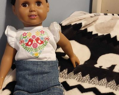 """18"""" doll (clothes included)"""