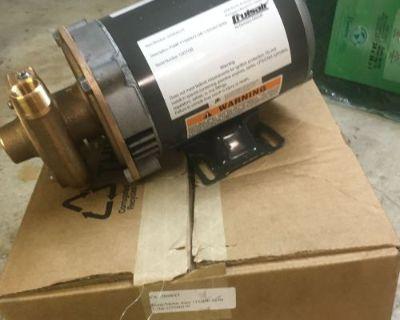 Dometic Cruisair P1500bxt Ac Sea Water Cooling Pump 115-230v 50-60hz Marine Air