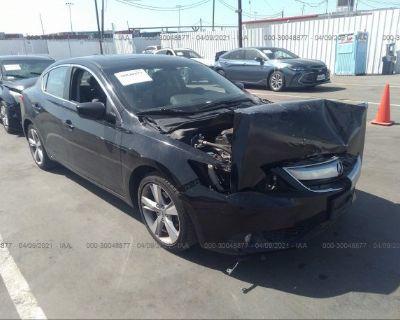 Salvage Black 2013 Acura Ilx