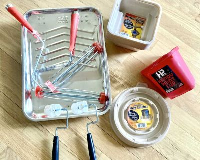 Set of 26 Assorted Items for Painting Sold Together