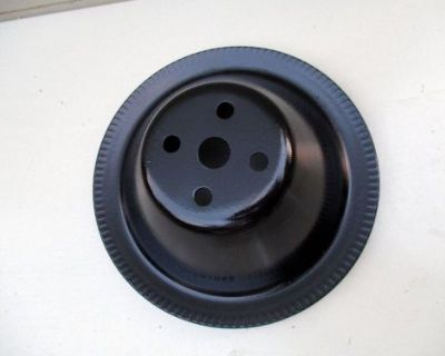 1966-1967 Chevy Corvette 327 Engine Water Pump Pulley 3905995cf Chevrolet Sbc Gm