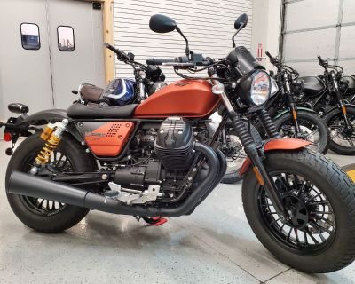 2020 Moto Guzzi V9 Bobber Sport
