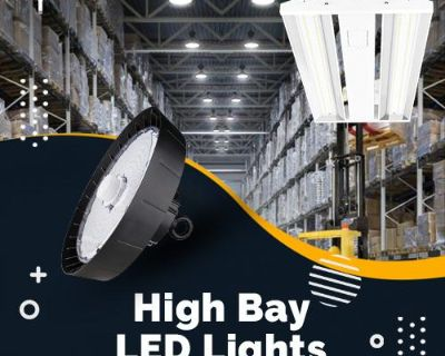 Buy High Bay LED Lights for warehouses and manufacturing complexes