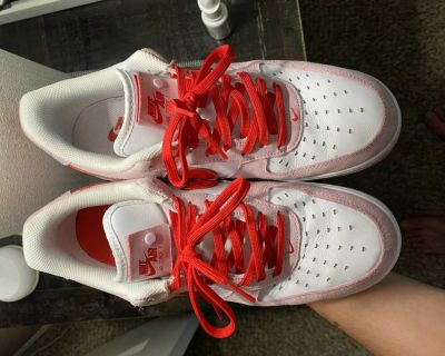 Nike Air Force 1 s Valentines Day