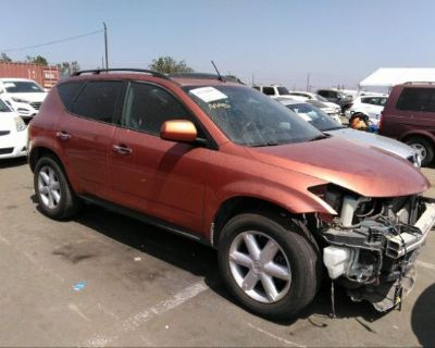Salvage Orange 2004 Nissan Murano