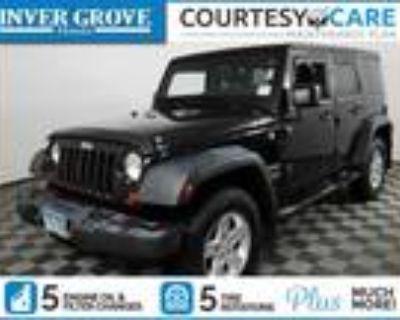 2012 Jeep Wrangler Black|Green, 96K miles