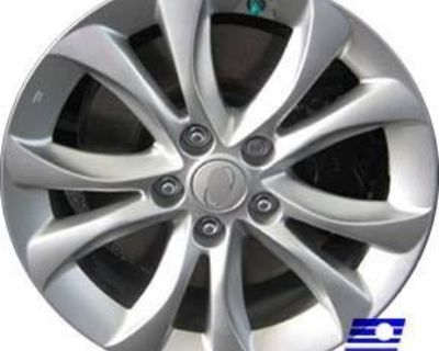Refinished Hyundai Genesis 2012-2013 17 Inch Wheel, Ri