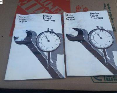 Dealer training booklets