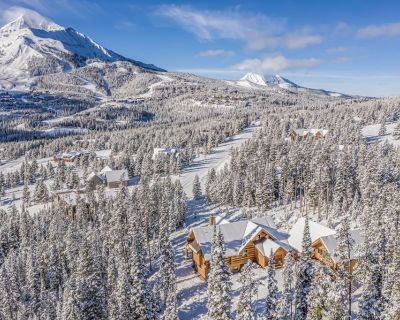 Custom-Built Log Home with Ski-in, Ski-out Access to Family-Friendly Terrain - Big Sky