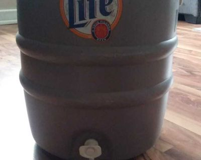 Water cooler or beverage holder. Works does not leak. Just dont need sitting in basement.keeps things cold and hot