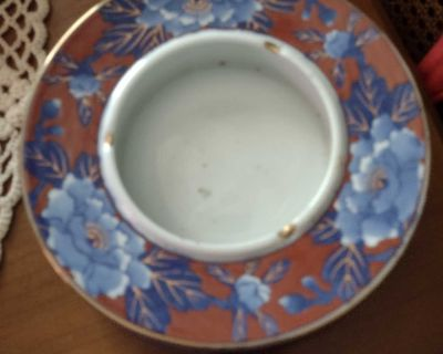 Antique Japanese ashtray one chip see 2nd picture smoke free home