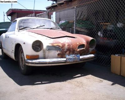 Ghia body sections