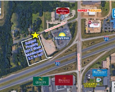 Vacant Land for Sale off of I-20
