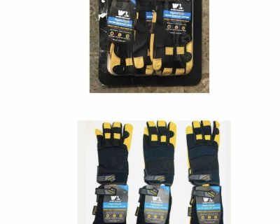 Wells Lamont Men's HydraHyde Leather Work Gloves, 3-pack X-LARGE