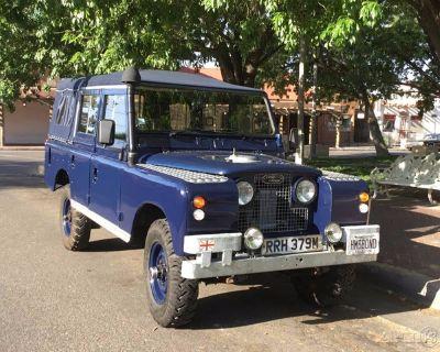 1974 Land Rover 109 Series III