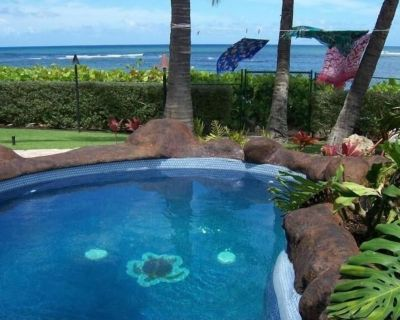 BEACH FRONT ESTATE SANDY BEACH w/Heated Saline Pool/SPA & 360 Degree Views - Mokuleia