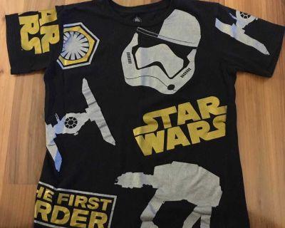 Star Wars First Order Disney Store T-shirt Size 14