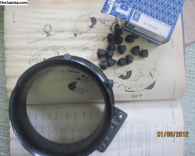 NOS Throttle Ring Bumper Rubber 111 119 185