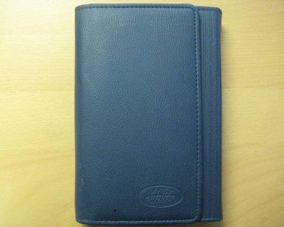 Land Rover Range Rover Sport Owners Manual With Leather Binder - 2006