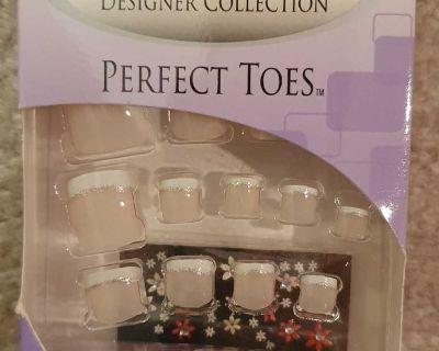Nailene Designer Collection Nails for Toes - Glitterati