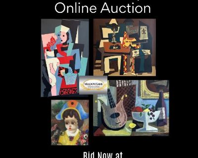 Summer Marketplace Collectibles and Art from Winnetka & Highland Park Estates ONLINE AUCTION
