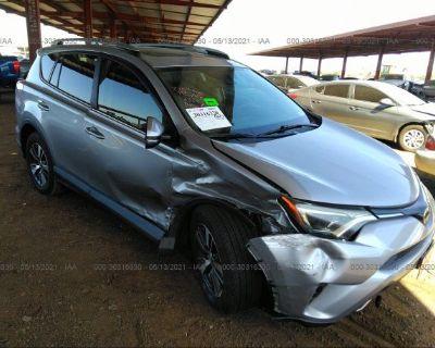 Salvage Silver 2017 Toyota Rav4