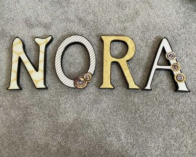 Nora wood letters