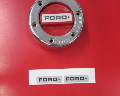 1978-1996 Ford Truck Bronco 4x4 Locking Cap Decal F100 F150 4x4 Ranger Lariat