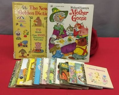 """""""We Just May Have What Your Looking For"""" Auction with Home D cor, Children's Books , Holiday D cor ,"""