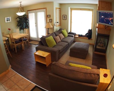 Ground floor 1 bedroom condo with access to ski trails - Sun Peaks