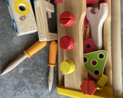 Wooden ToolBox $10.00