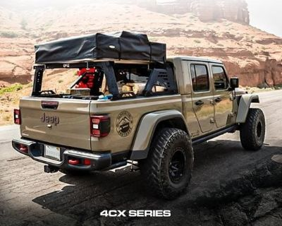 Our TUWA PRO 4CX Series MOAB Bed Rack System is finally BACK!