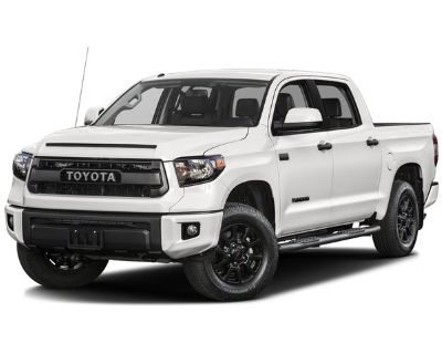 Pre-Owned 2017 Toyota Tundra 4WD TRD Pro 4WD Crew Cab Pickup