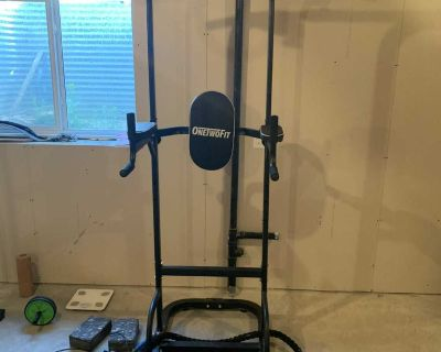 Power tower/pull up and dips