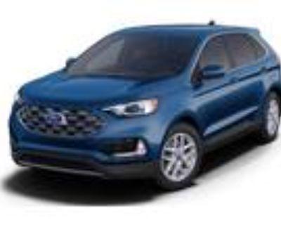 2021 Ford Edge Blue