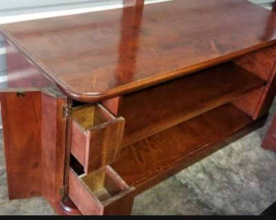 Entry or buffet table beautiful wood table cabinet