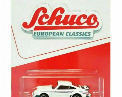 Schuco 1:64 Porsche 930 911 Turbo - White w/stripe