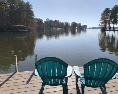 Visit the The Good Life on Lake Gaston! 5 bedrooms w/ kayaks, SUPs, pedal boat - Henrico