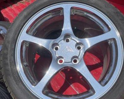 corvette tires and wheels