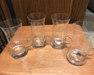 Crystal Etched Mugs