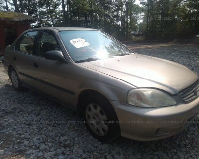 Salvage Gold 2000 Honda Civic