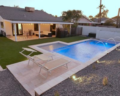 Quiet Scottsdale Kierland home with HEATED POOL*, jacuzzi, close to everything! - Greenbrier East Villas