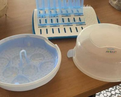 Bottle Drying Rack and Sterilizer