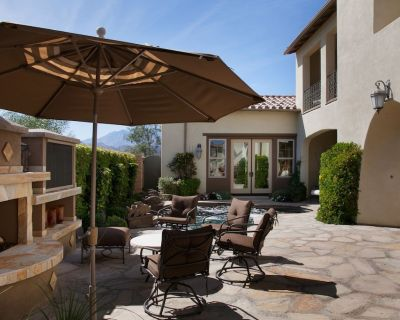 Luxurious Desert Villa, Perfect for Longer Stays w/ Golf, Lake & Mtn Views - Palm Springs