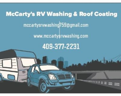 McCarty's RV Washing & Roof Coating