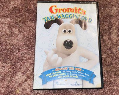 Gromits Tail-Waggin DVD