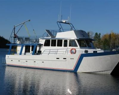 1997 17.37m Steel Overnight Charter Boat Sleeps 12 persons for sale